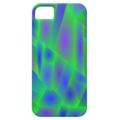 El extracto loco colorea la cubierta del iPhone 5/ iPhone 5 Funda