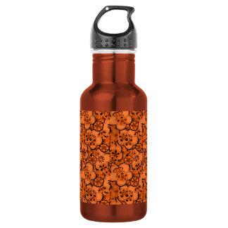 El extracto retro florece el agua del naranja de