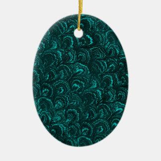 El extracto retro maravilloso remolina óvalo del adorno ovalado de cerámica