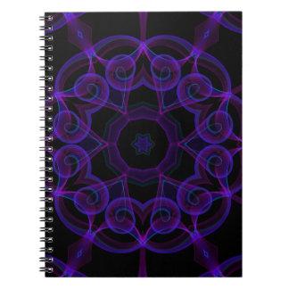 El extracto se nubla los cuadernos superiores