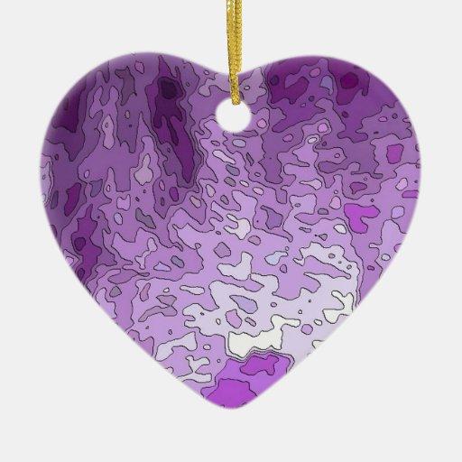 el extracto traza púrpura adorno