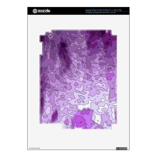 el extracto traza púrpura iPad 3 skins