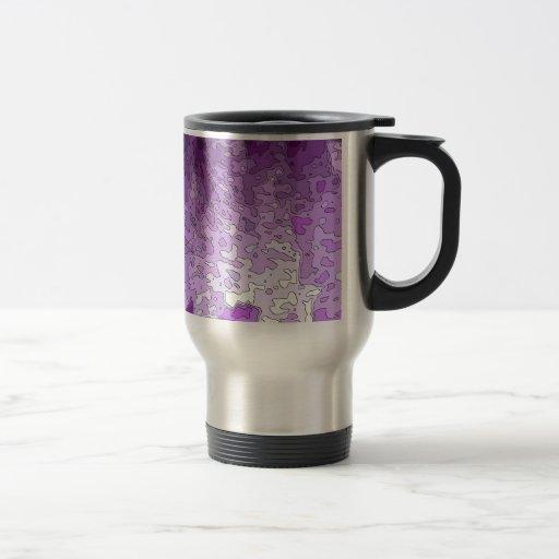 el extracto traza púrpura taza de viaje de acero inoxidable