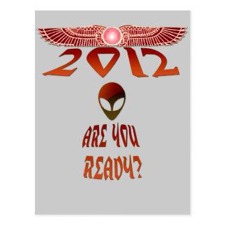 ¿El extranjero 2012 es usted alista? Tarjetas Postales