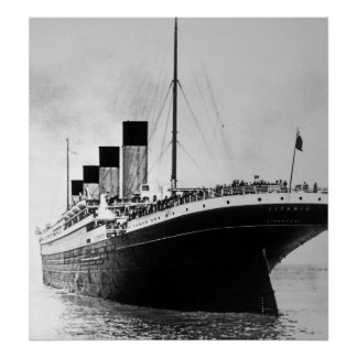 El extranjero titánico del RMS Impresiones