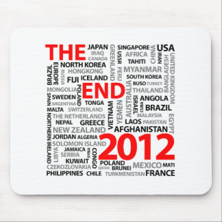 El extremo 2012 mouse pads