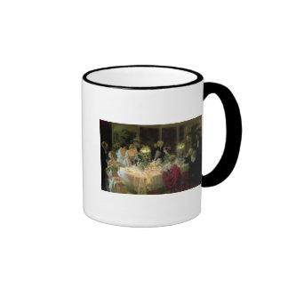 El extremo de Dinner, 1913 Tazas De Café