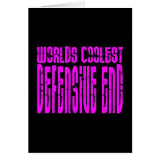 El extremo defensivo más fresco de los mundos felicitacion