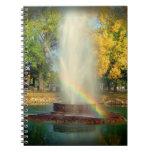 El extremo del arco iris cuaderno