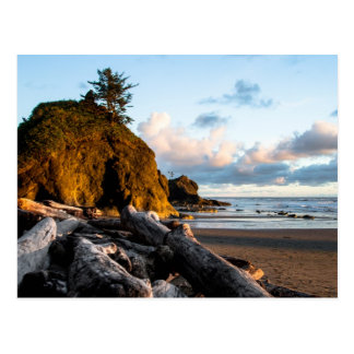 El extremo del día en la segunda playa tarjetas postales