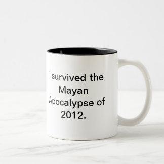 ¡El extremo del mundo es diciembre de 2012 que vie Taza Dos Tonos