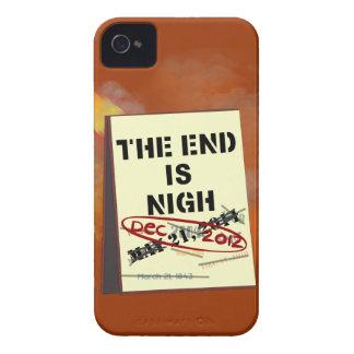 El extremo está cerca, caso de Barely There del iPhone 4 Case-Mate Coberturas