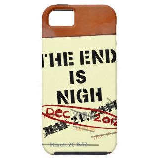 El extremo está cerca, caso duro del iPhone 5 iPhone 5 Funda