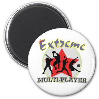 El extremo multijugador imán redondo 5 cm