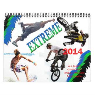 El extremo se divierte el calendario 2014, POR