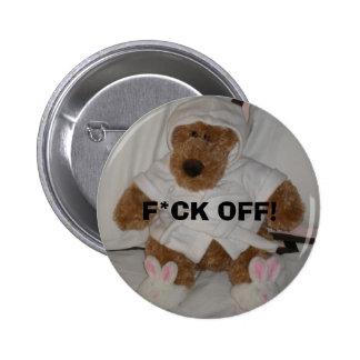 El F*CK de Bridget del bebé del botón Pin Redondo De 2 Pulgadas