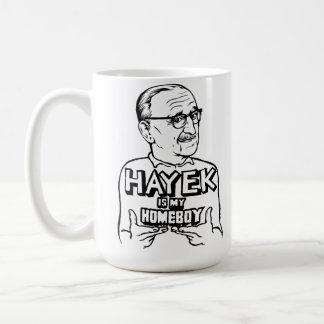 El FA Hayek es mi taza del Homeboy
