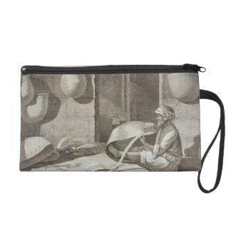 El fabricante de cesta, de los artes y de los come