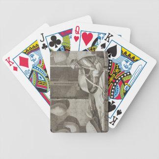 El fabricante de cesta, de los artes y de los come baraja cartas de poker