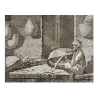 El fabricante de cesta, de los artes y de los postal