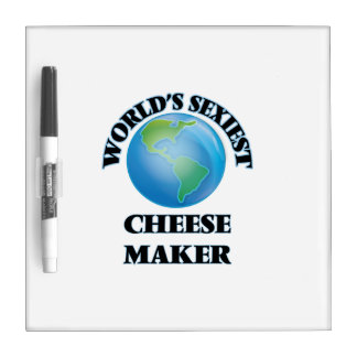 El fabricante más atractivo del queso del mundo pizarra