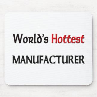 El fabricante más caliente de los mundos tapete de ratones