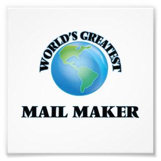El fabricante más grande del correo del mundo impresiones fotograficas