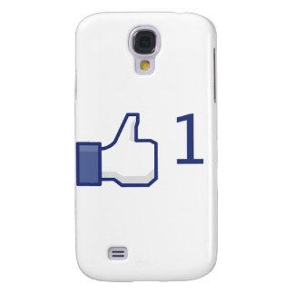 el facebook tiene gusto del botón samsung galaxy s4 cover
