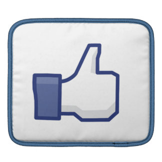 el facebook TIENE GUSTO del pulgar encima de la ma Fundas Para iPads