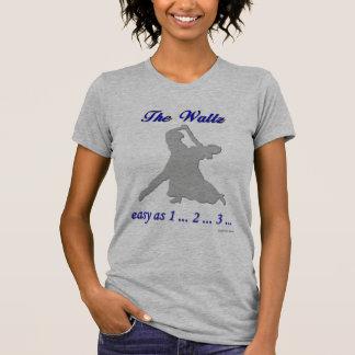 … El fácil de vals como 1… 2… 3… Camisetas