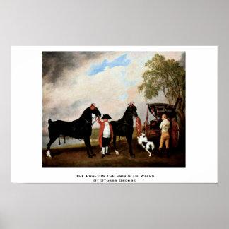 El faetón el Príncipe de Gales de Stubbs George Posters