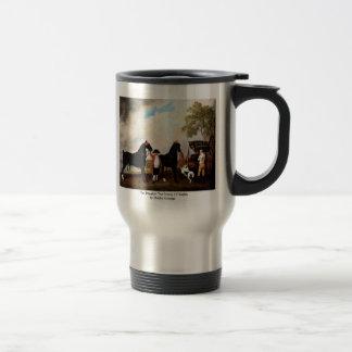 El faetón el Príncipe de Gales de Stubbs George Taza De Café