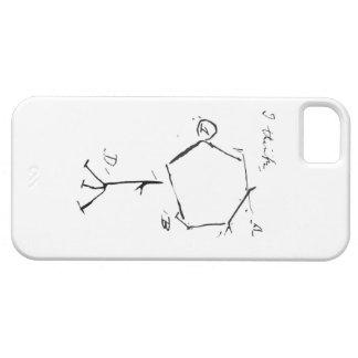 El fago de Darwin iPhone 5 Funda