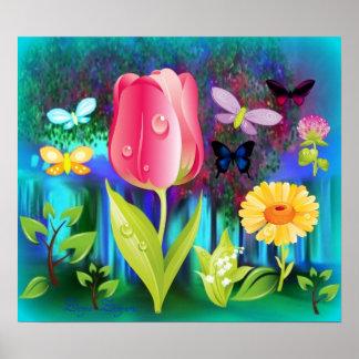 El Fairyland cultiva un huerto poster
