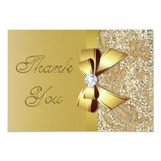 """El falso boda de diamante del arco de las invitación 3.5"""" x 5"""""""