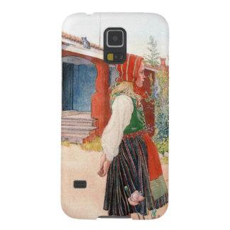 El Falun Carl Larsson casero Carcasa De Galaxy S5