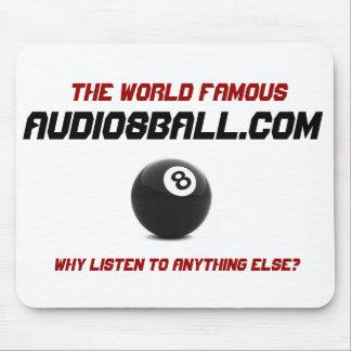 El famoso, Audio8ball.com Mousepad Alfombrilla De Ratones