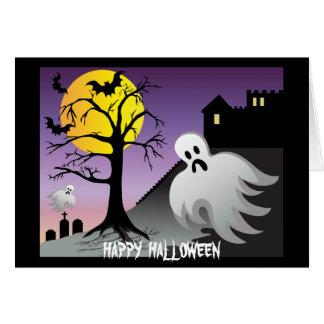 El fantasma de Halloween golpea el 10% de venta Tarjeta De Felicitación