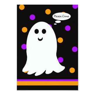 El fantasma de la invitación de la fiesta de