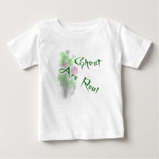 El fantasma es real playera de bebé