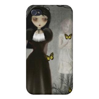 El fantasma susurra el caso del iPhone iPhone 4 Funda