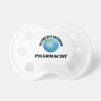 El farmacéutico más atractivo del mundo chupetes