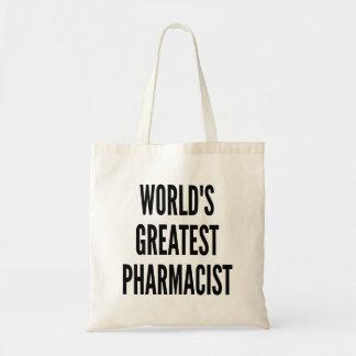 El farmacéutico más grande de los mundos bolsa tela barata