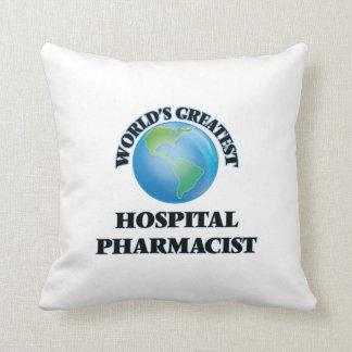 El farmacéutico más grande del hospital del mundo cojin