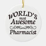 El farmacéutico más impresionante del mundo adorno de reyes