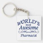 El farmacéutico más impresionante del mundo llaveros