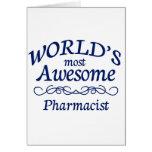 El farmacéutico más impresionante del mundo felicitaciones
