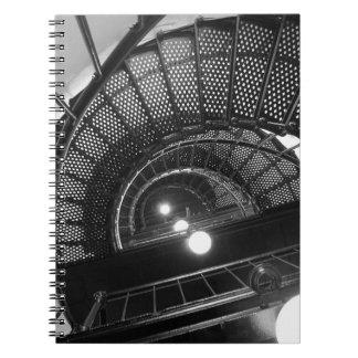 El faro camina cuaderno espiral