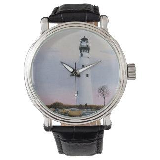 El faro de la tarde relojes de pulsera