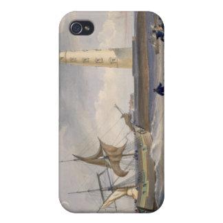 El faro en el cabo Chersonese, placa del ' iPhone 4/4S Fundas